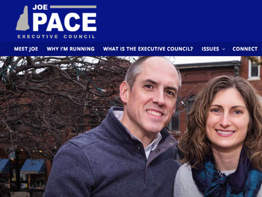 Joe Pace for NH Executive Council
